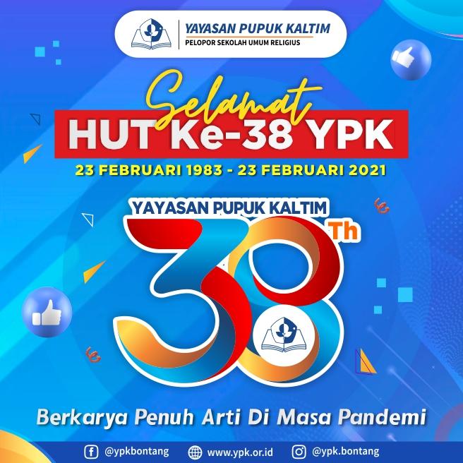 """HUT ke-38,  Yayasan Pupuk Kaltim Usung Tema """"Berkarya Penuh Arti di Masa Pandemi"""""""