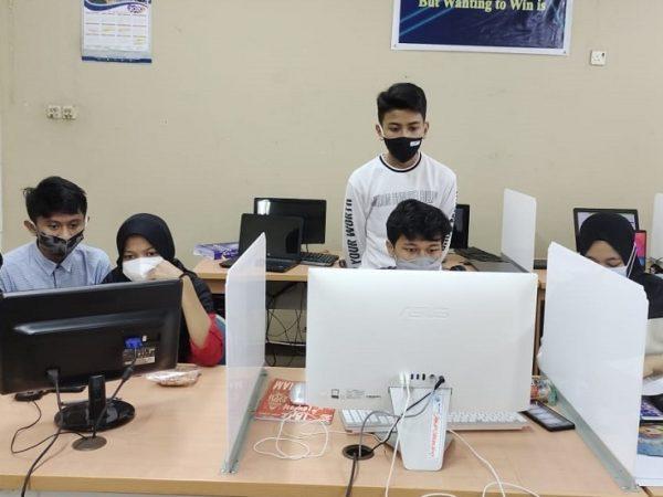 Tim KSN SMA YPK Lakukan Simulasi KSN-K 2021