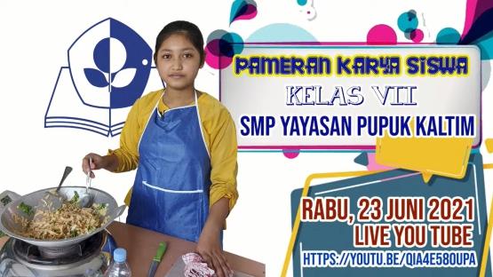 SMP YPK Gelar Pameran Karya Siswa, Menampilkan 200  Karya Lebih