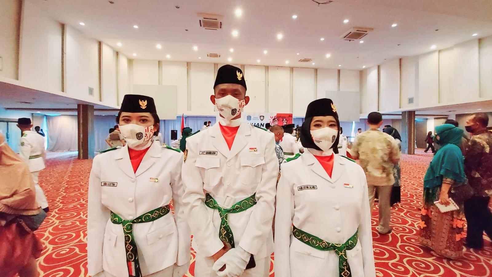 Tiga Siswa SMA YPK Terpilih Sebagai Tim Paskibraka Kota Bontang Tahun 2021